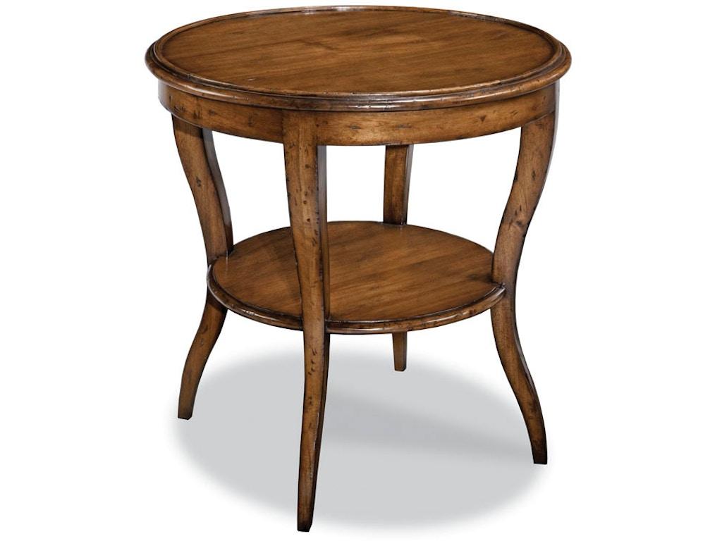 Woodbridge Furniture Living Room Side Table 1027 26 Seville Home Leawood Kansas City