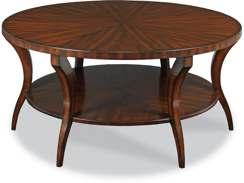 Woodbridge furniture living room gramercy cocktail table for Table 6 greensboro nc
