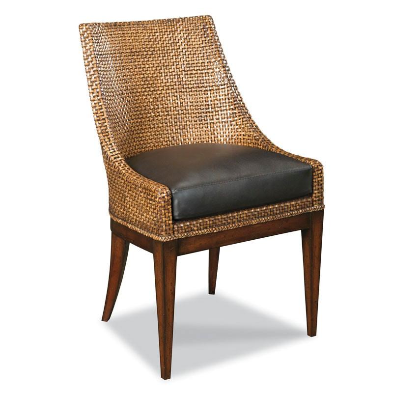 Woodbridge Furniture Woven Leather Chair 7178 03