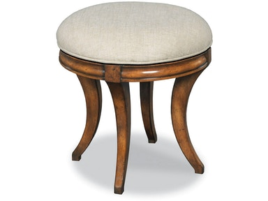 bedroom stools. Woodbridge Furniture Swivel Vanity Seat 7236 10 Bedroom Stools  IMI Sterling VA