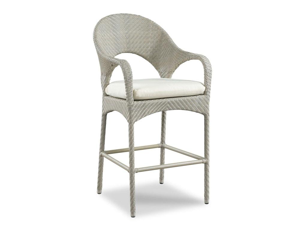 Woodbridge furniture outdoor patio ventana bar stool 7260 for Outdoor furniture kansas city