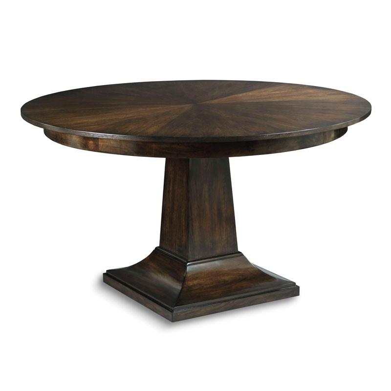 Beau Woodbridge Furniture Dining Room Parker Pedestal Table
