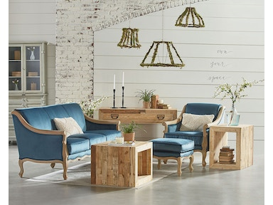 Magnolia Home by Joanna Gaines Mclennan Sofa - Navy 55519301