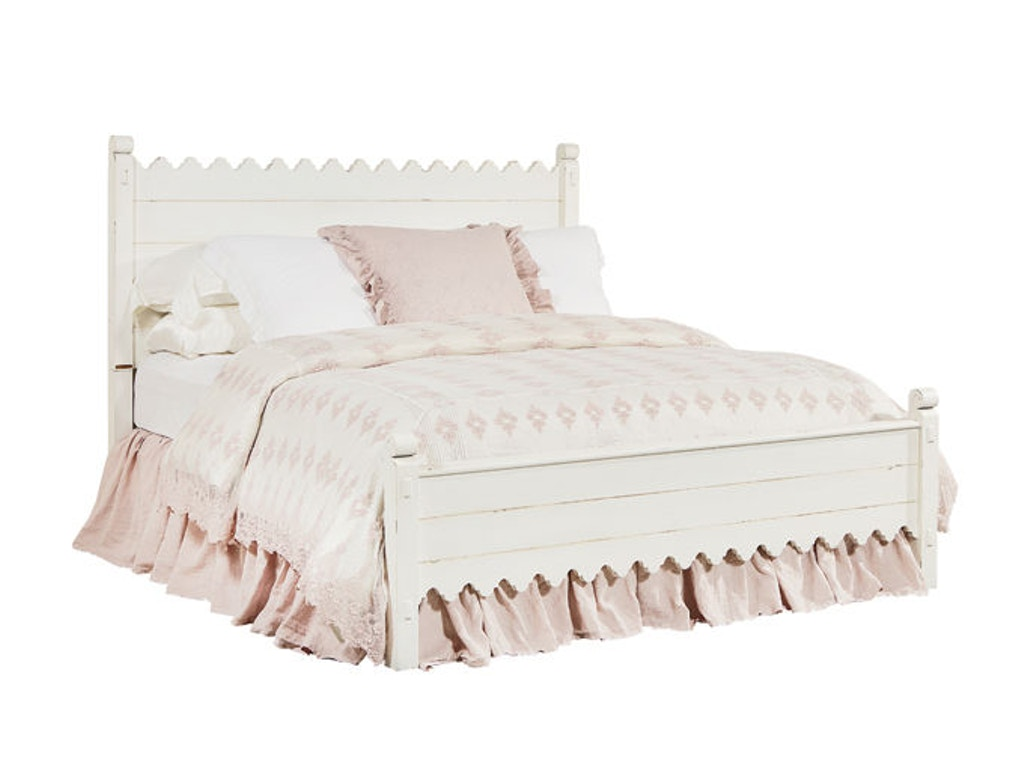 Magnolia home by joanna gaines bedroom scallop king bed - Joanna gaines bedding collection ...
