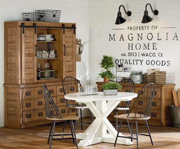 magnolia home by joanna gaines dining room archive hutch and