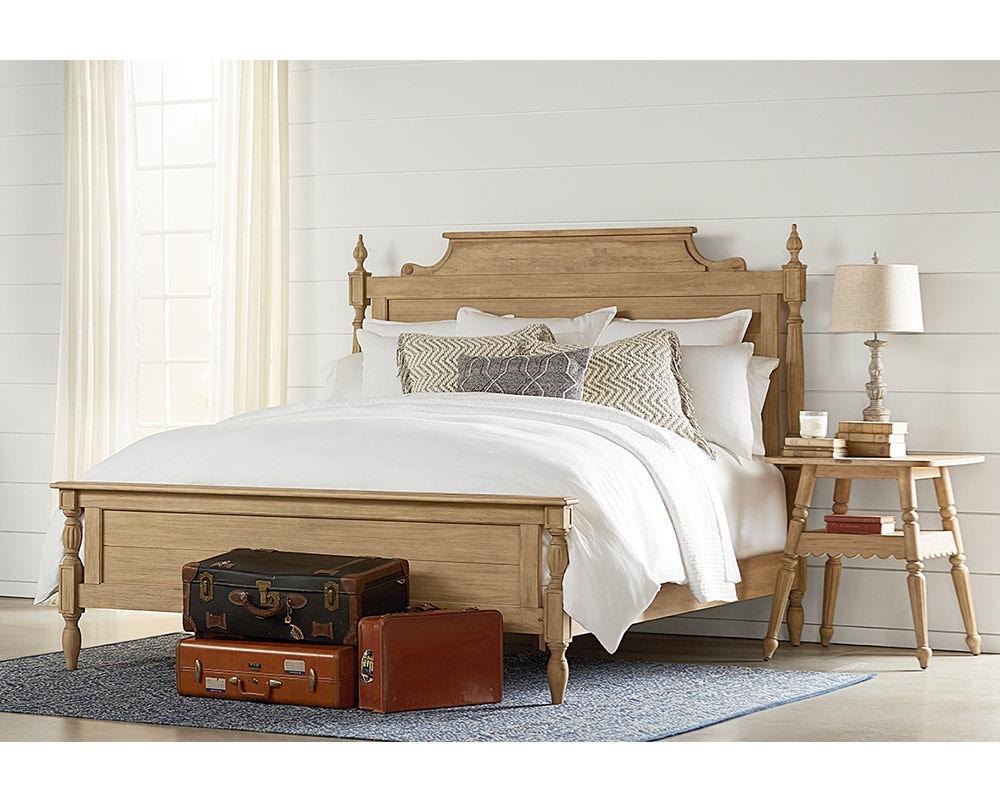 Magnolia Home By Joanna Gaines Bellmead King Bed, 6/6 4070911Y/4070913Y/