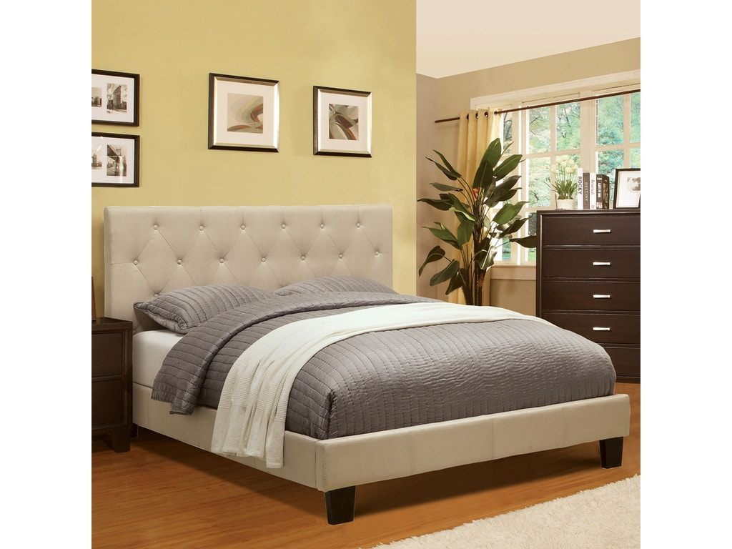 Furniture of America Queen Bed CM7200IV-Q-BED