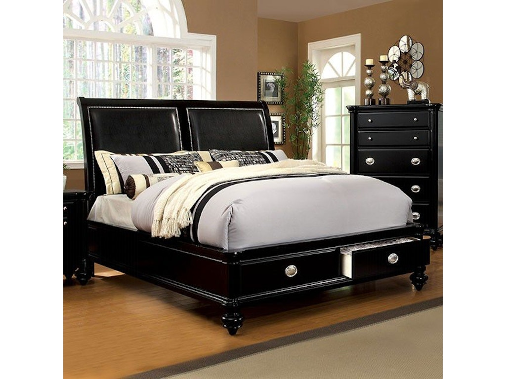 Furniture of America Queen Bed CM7652L-Q-BED