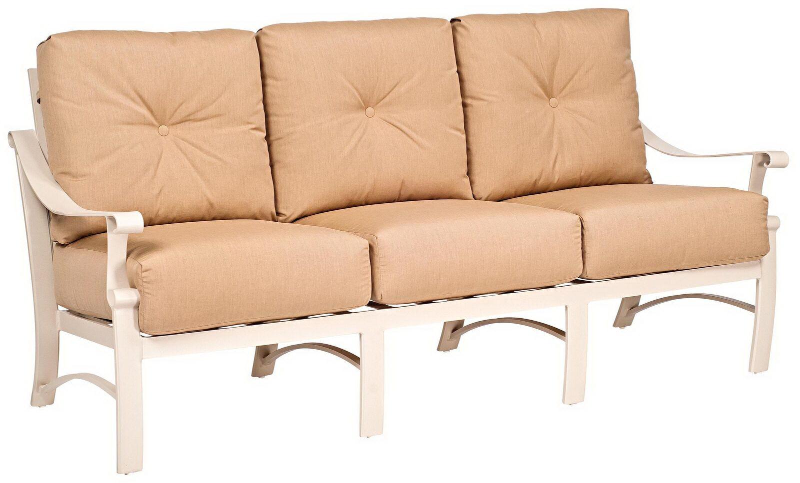 Outdoor/Patio Sofa By Woodard 8Q0420   Patios USA   USA Questions? Call  888.643.6003