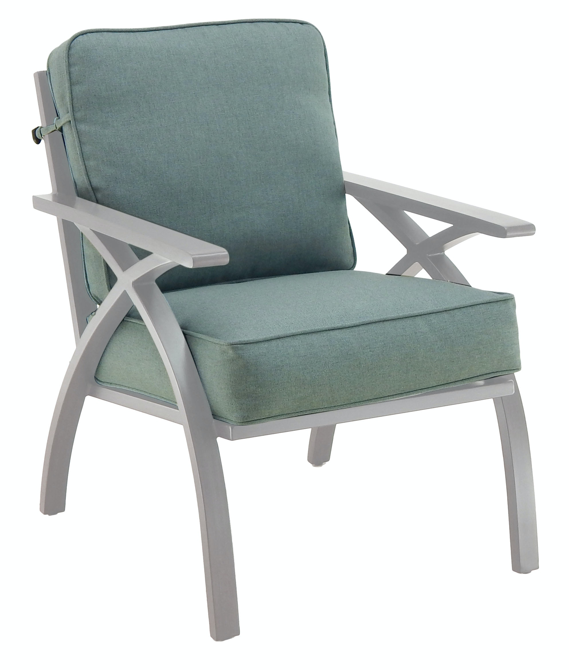 Outdoor/Patio Cushioned Dining Chair By Castelle 2706BT   Patios USA   USA  Questions? Call 888.643.6003