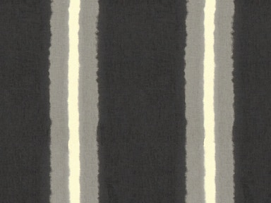 Bassett PRINTED STRIPE CHARCOAL 1C406-9