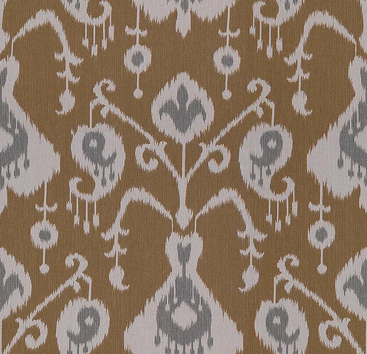Kittles Mattress Maxx Bassett PRINTED PAISLEY CAMEL 4229-2 - Kittle's Furniture - Indiana