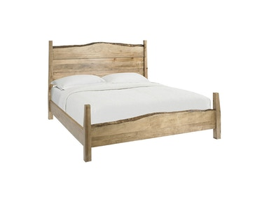 Queen Live Edge Panel Bed