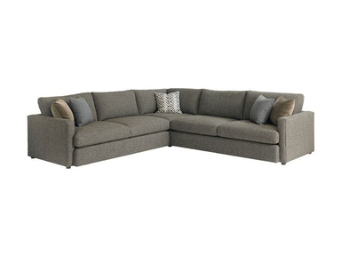 Bassett Large L-Shaped Sectional 2611-LSECTLLFC