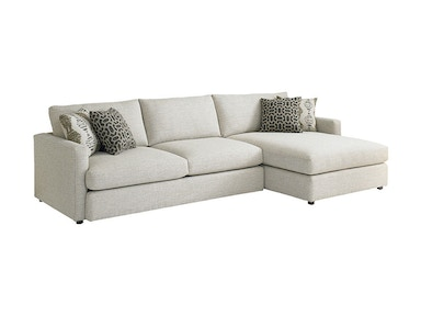 Bassett Right Chaise Sectional 2611-RCSECT