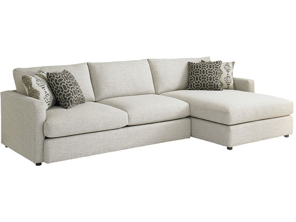 Bassett Living Room Right Chaise Sectional 2611 Rcsectfc Quality Furniture Murfreesboro Tn