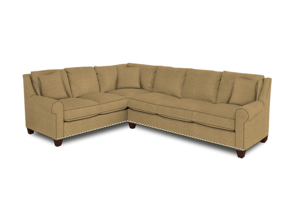 Bassett Living Room Large L Shaped Sectional 3101 Lsectfll Norris Furniture Interiors Fort