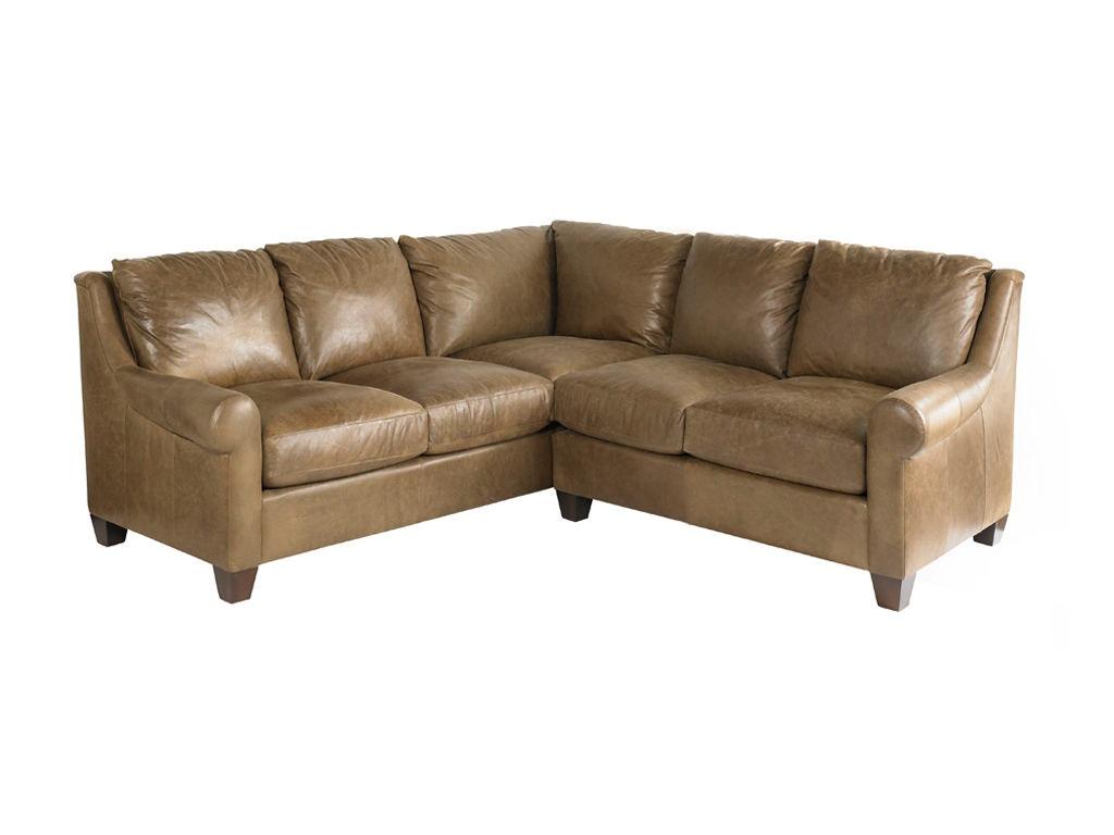 bassett living room small l shaped sectional 3101 lsectls royal furniture and design key. Black Bedroom Furniture Sets. Home Design Ideas