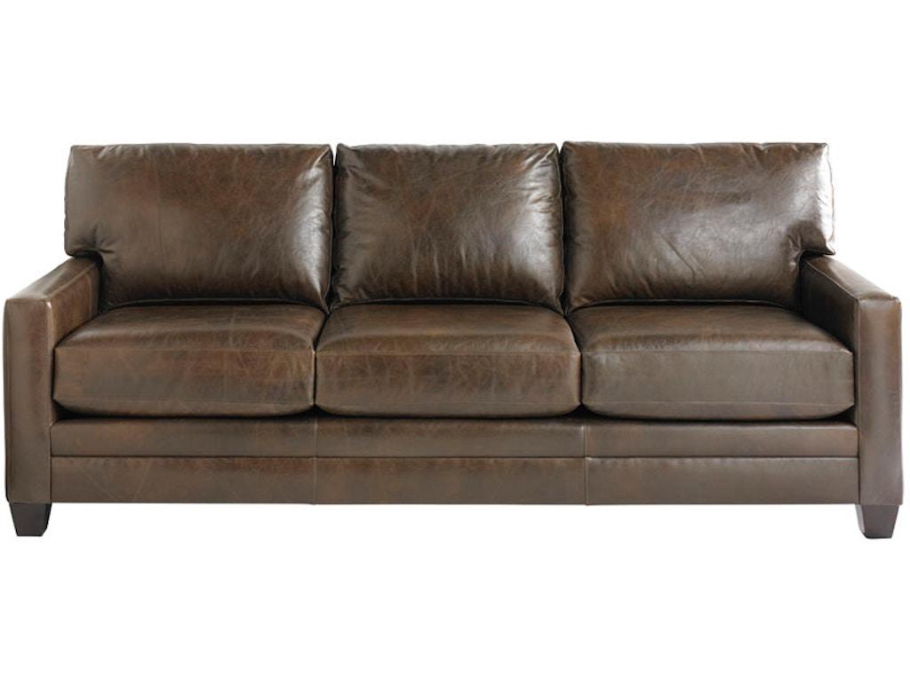 Bassett living room sofa 3105 72l eller and owens for Sofa eller couch