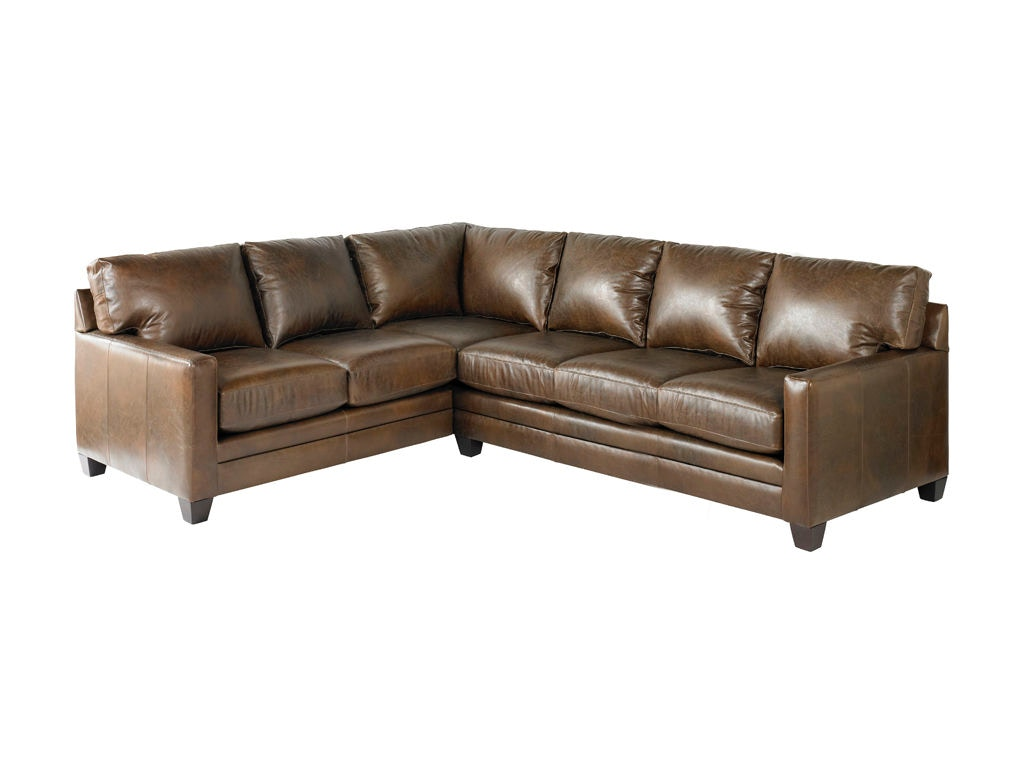 Bassett Living Room Large L Shaped Sectional 3105 Lsectll Royal Furniture And Design Key