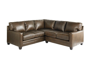 Bassett Living Room Small L-Shaped Sectional