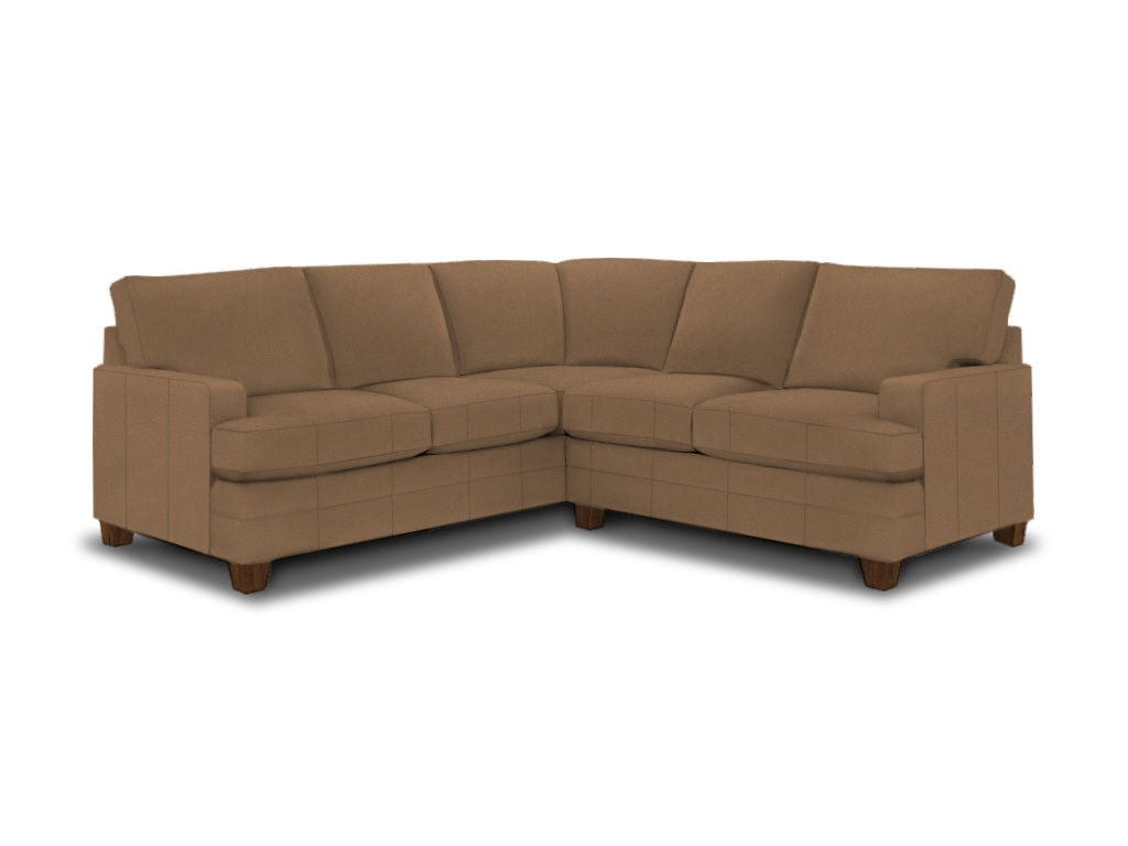 Bassett Living Room L Shaped Sectional 3849 Lsectl Royal Furniture And Design Key West