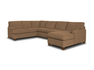 Bassett Living Room U-Shaped Sectional
