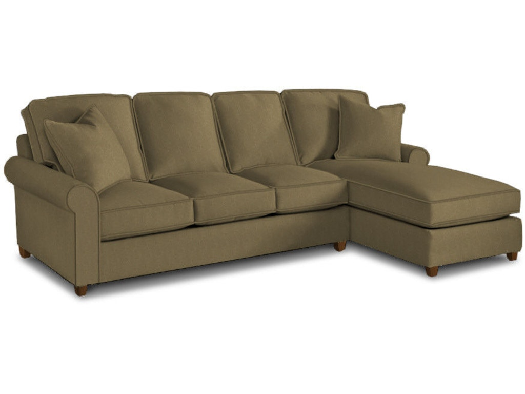 Bassett Living Room Right Chaise Sectional 4000 Rcsectf Signature Furniture Lexington Ky