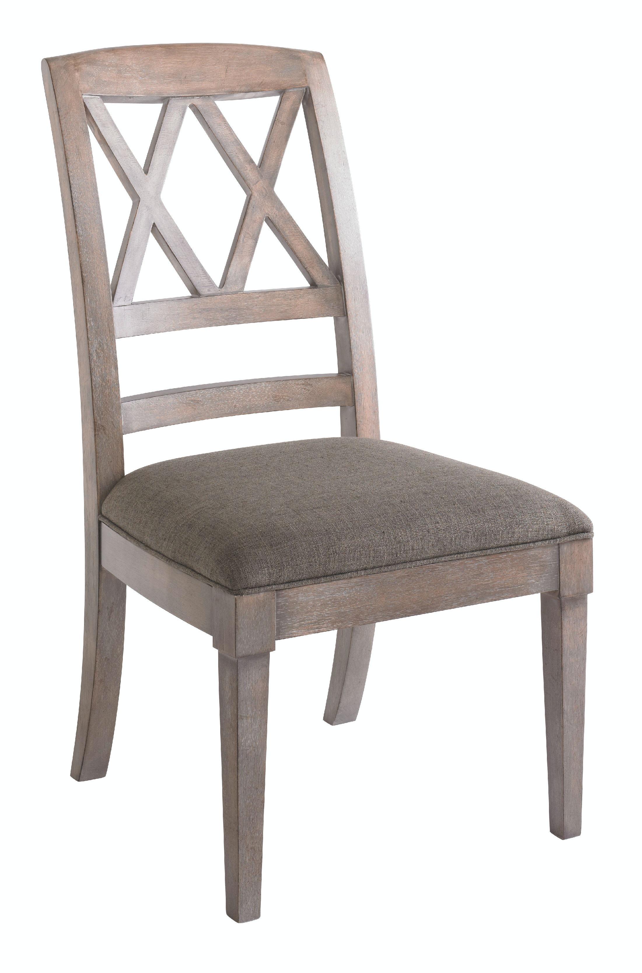 Bassett Dining Room X Back Side Chair 4525 2455 Lenoir Empire Furniture J