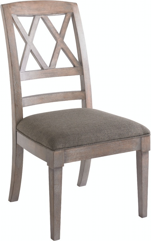 Bassett Dining Room X Back Side Chair 4525 2455 Whitley