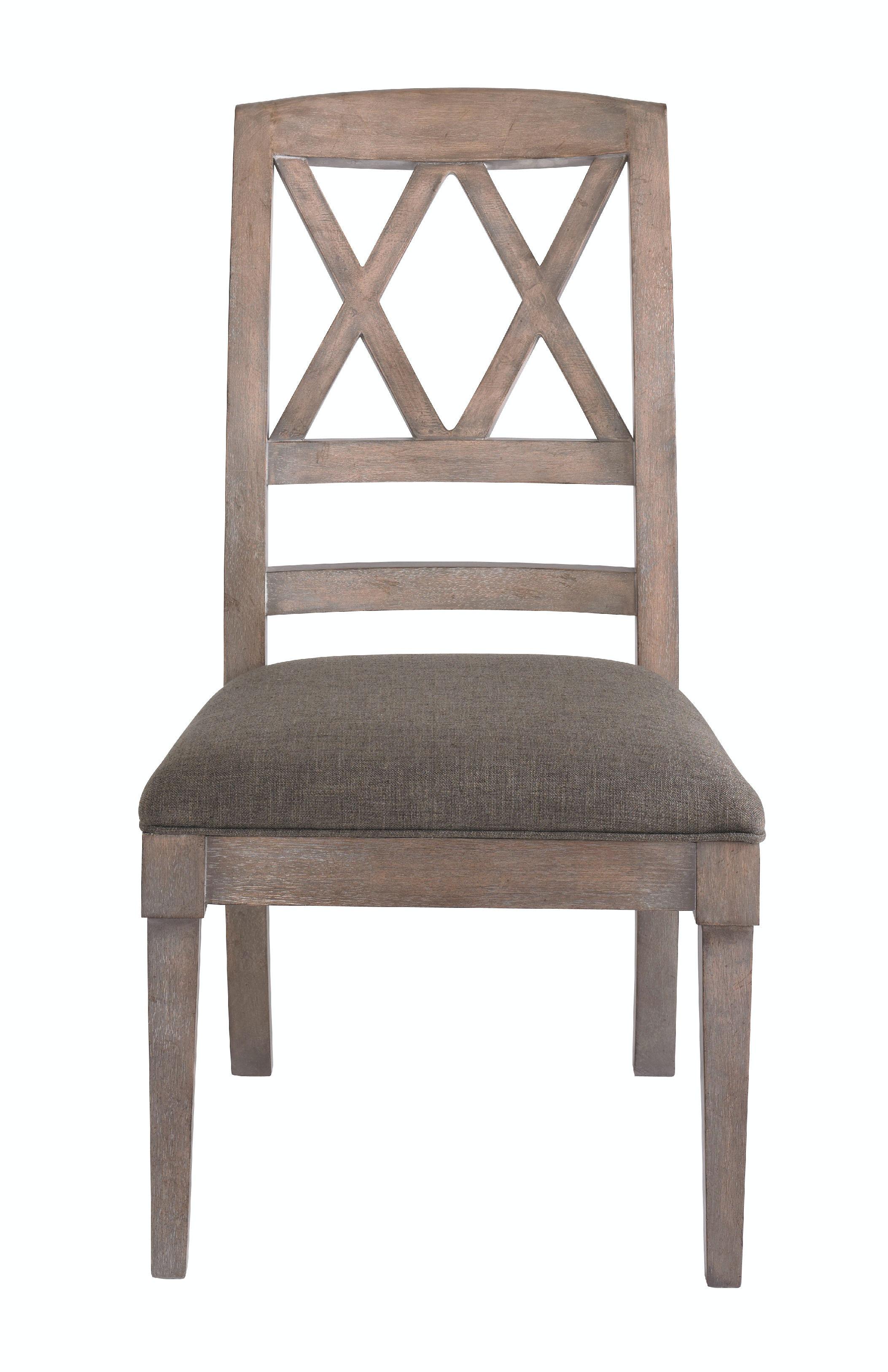 Bassett Dining Room X Back Side Chair 4525 2455 Hickory Furniture Mart Hi