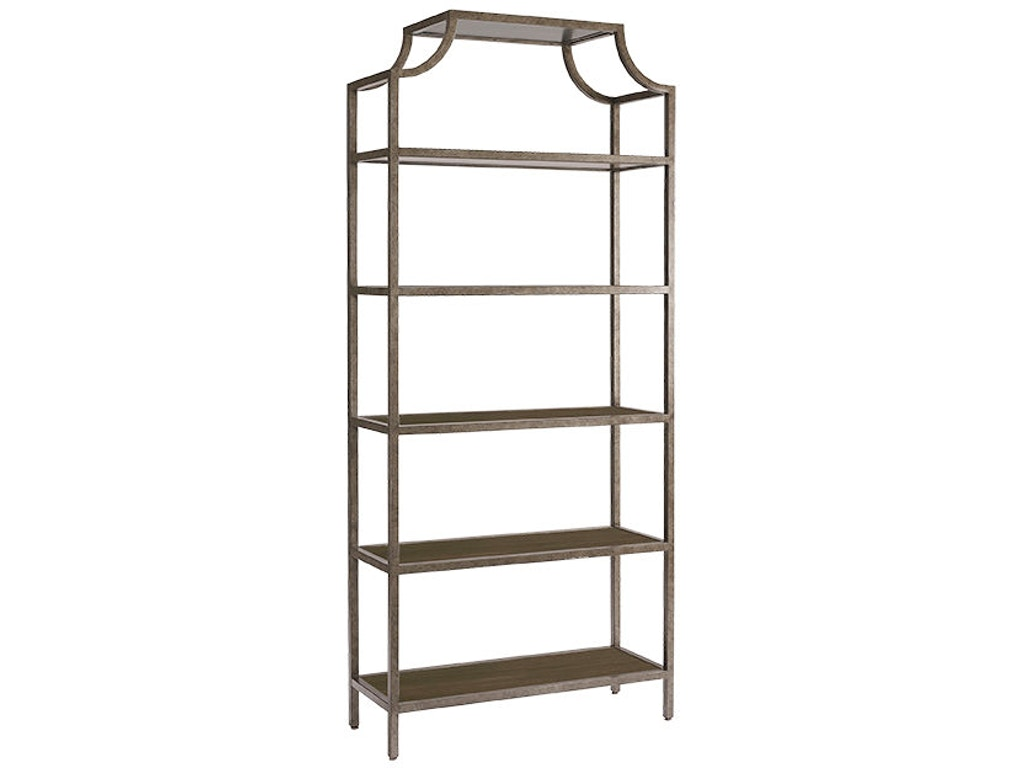 Bassett living room etagere 4559 0682 good 39 s furniture for Dining room etagere