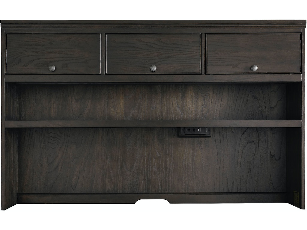Bassett Home Office Large Hutch With Doors 6464 0851