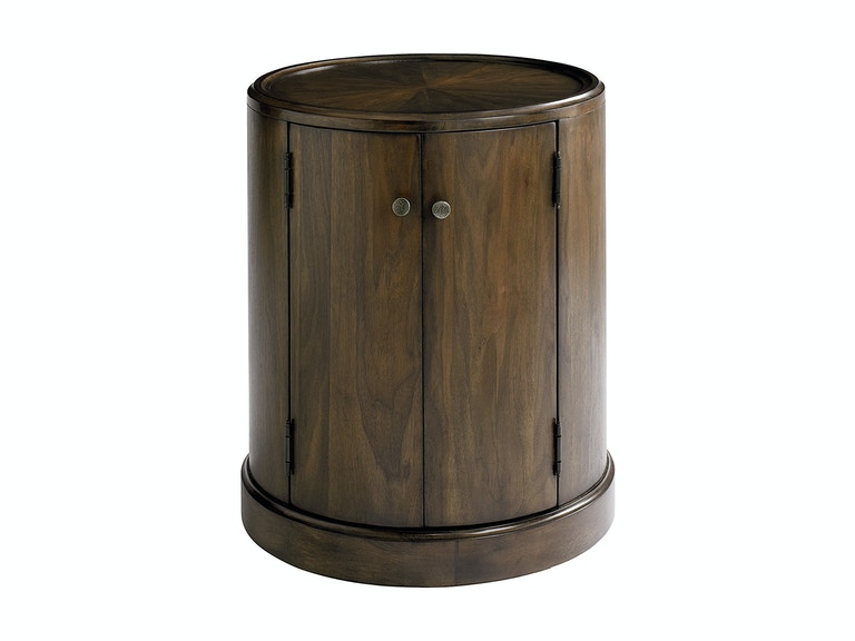 Bassett Palisades Drum Table 549638