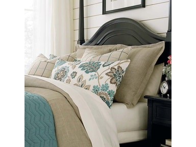 Bassett Logan Queen Duvet-Natural 15310EQ