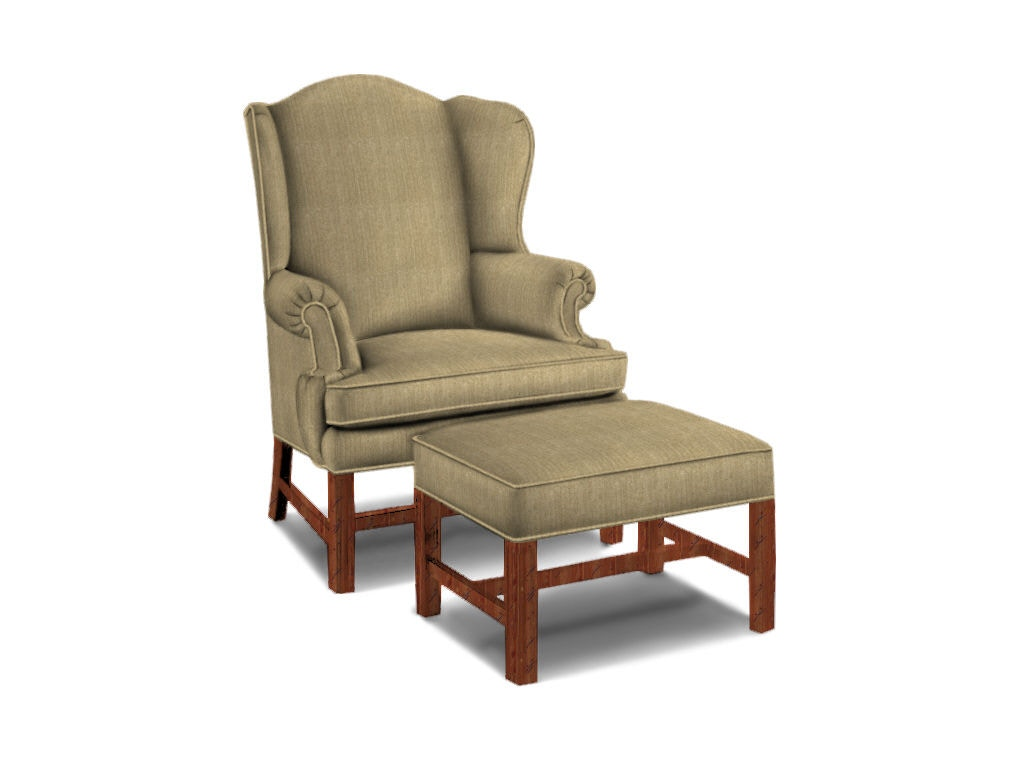 Sherrill living room wing chair 1517 1 sherrill for Wing chairs for living room