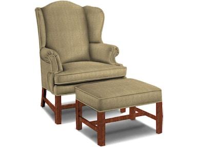 Sherrill Living Room Wing Chair 1517-1 - Sherrill Furniture ...