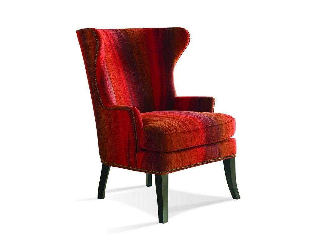 Sherrill Furniture Living Room Wing Chair 1600 Louis