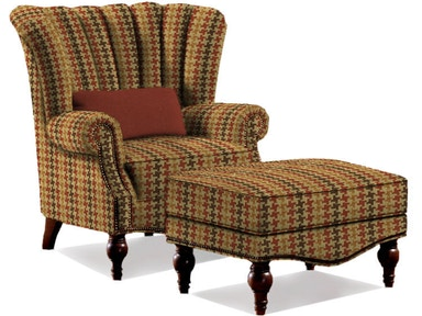 Sherrill Living Room Wing Chair 1612 - Sherrill Furniture - Hickory, NC