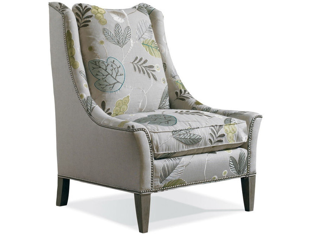 Sherrill Living Room Chair With Exposed Wood Leg 1796 - Sherrill ...