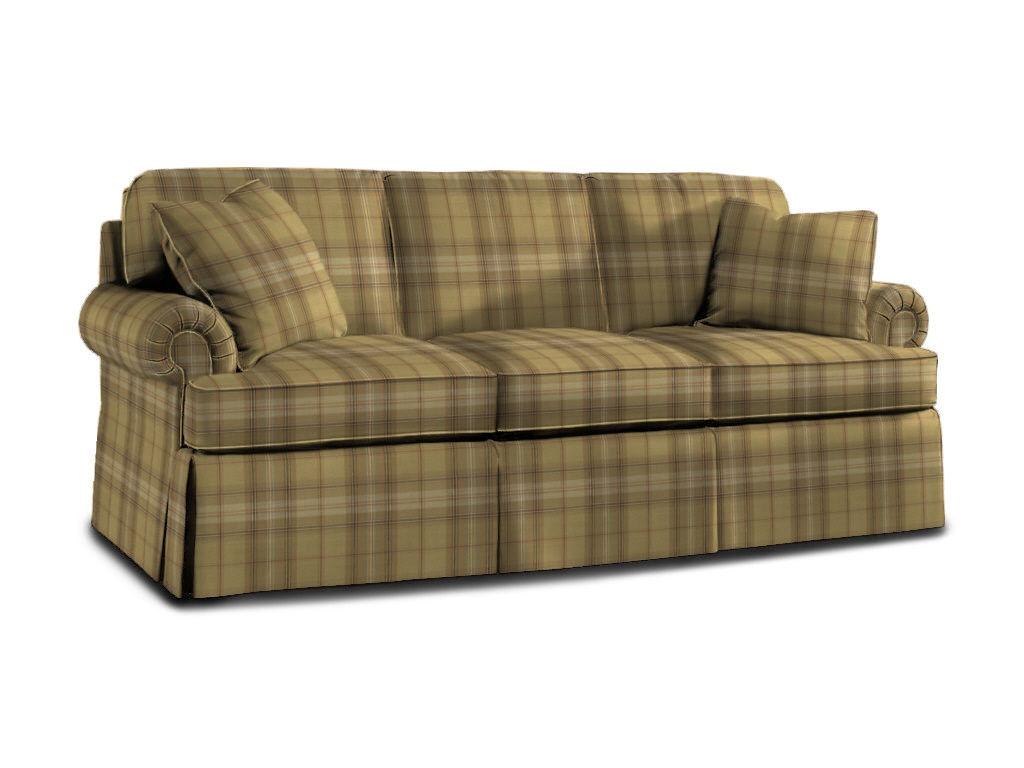 Sherrill Living Room Three Cushion Sofa