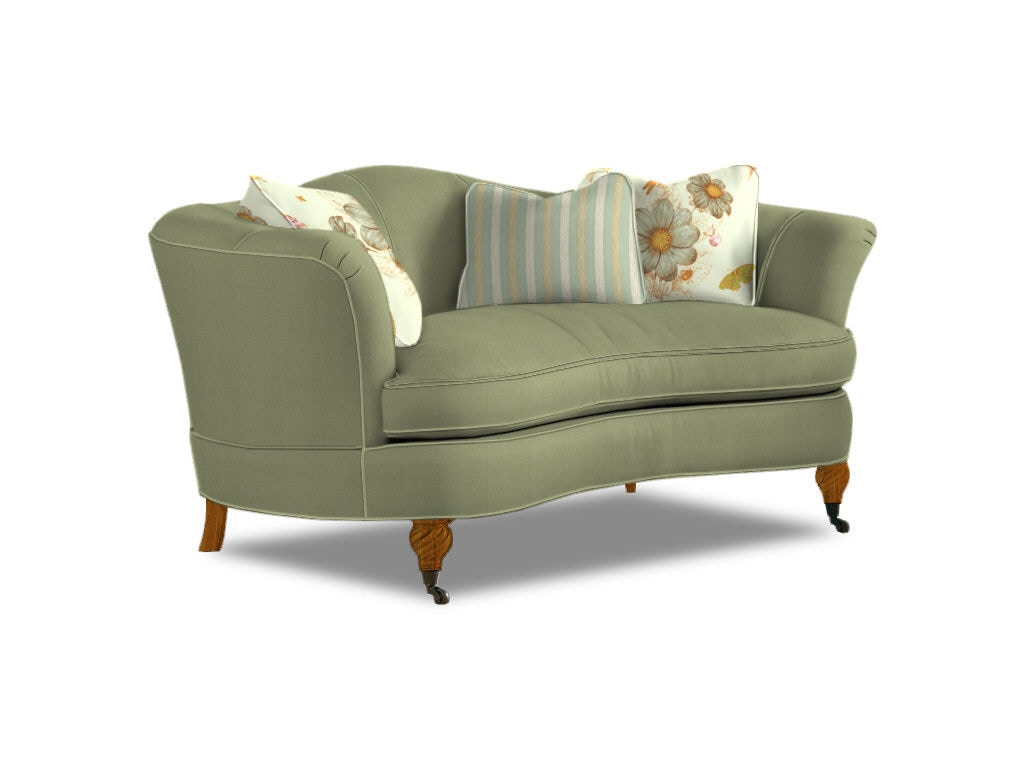 Sherrill Living Room One Cushion Sofa 2227 At Sherrill Furniture