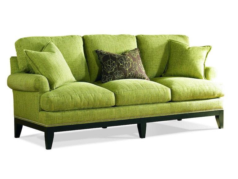 sherrill living room three cushion sofa 2262 bartlett