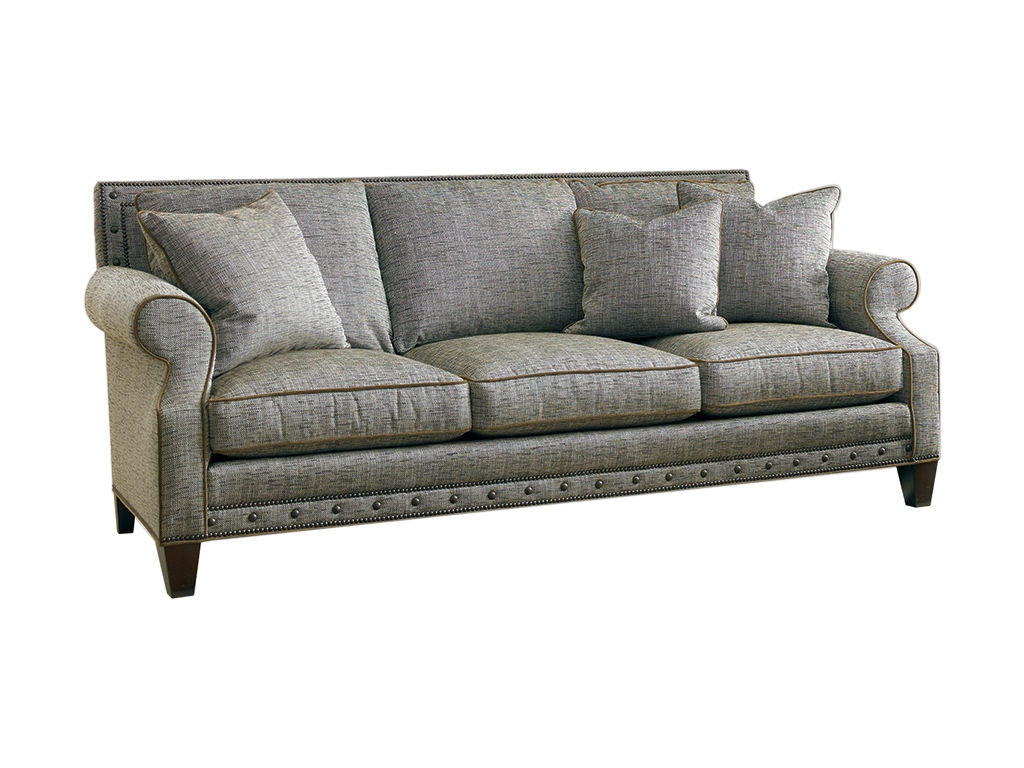 Sherrill Living Room Three Cushion Sofa Loose Seat Cushion Loose Pillow Back