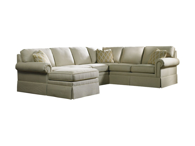 Sherrill Furniture Living Room Sectional 3085 Sect Louis