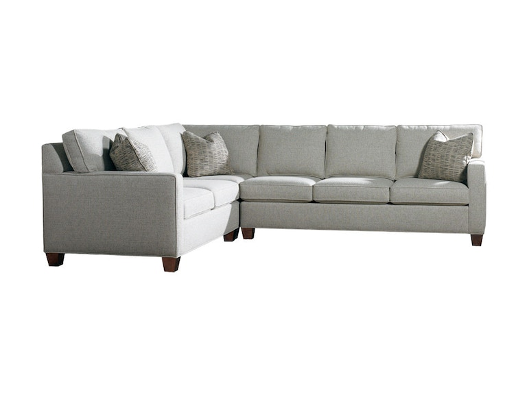 Sherrill Furniture Living Room Sectional 3100 Sect Louis