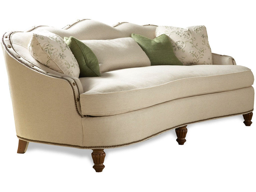 Sherrill Living Room One Cushion Sofa 3379 Cherry House Furniture La Grange And Louisville Ky