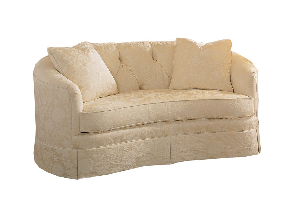 Sherrill Living Room One Cushion Sofa 3381 Cherry House Furniture La Grange And Louisville Ky