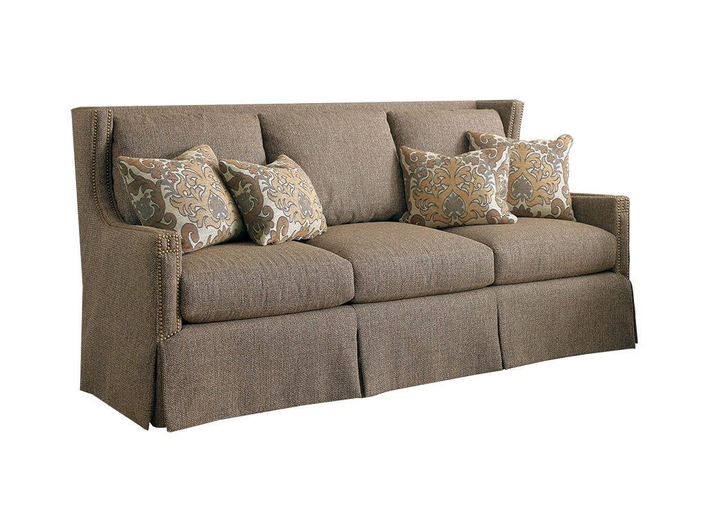 Sherrill Three Cushion Sofa Loose Seat Cushion Loose Pillow Back 3421