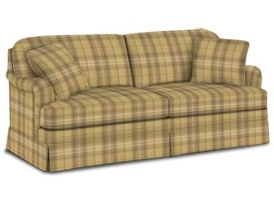 Plaid Living Room Furniture. Sherrill Living Room Sofa 9623 EKS  Furniture Hickory NC